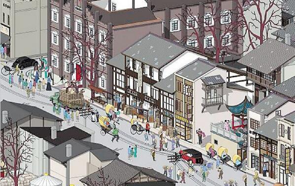 还原旧貌!《长沙市潮宗街历史文化街区城市绘本》出炉