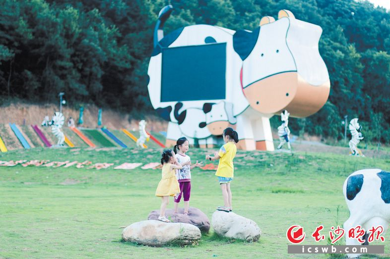 """宁乡建原生态游乐园""""童牧谷"""" 在田园里造出童话世界"""