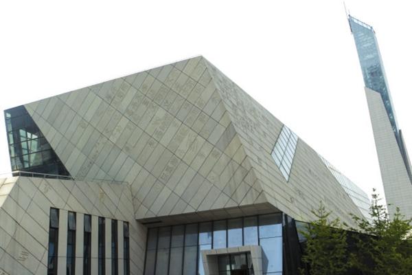 组图/记者陈正 把最美的风景留给读者,这是长沙市图书馆新馆规划设计