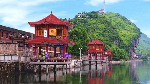 """所在地:衡阳市常宁市   """"十三五""""计划投资:10亿   东洲岛旅游开发"""